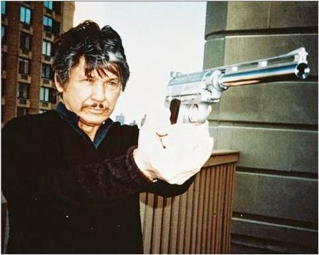 The ultimate vigilante, Charles Bronson- Death Wish.
