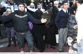 Australian police given broad power to force women to take off religious head coverings.