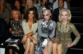 Another day at front row at Chanel.