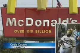 McDonald's Manager punches customer in the face for bringing service dog inside.