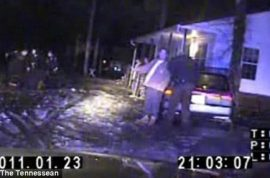 Caught on tape: Police stripping unarmed man, kicking, beating him, and then tasering him while he lays naked screaming in the snow.