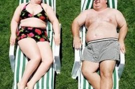 Study: Marriage is more satisfying when the wife is THINNER than the husband.