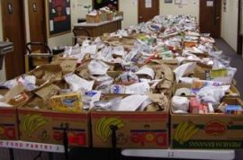 Church closes food bank because it was attracting poor people.