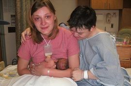 Redefining the family: transgender couple gives birth to miracle baby