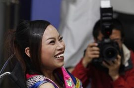 China's most hated woman, infamous Bachelorette celebrity arrives in America to work as a nail salon assistant. 'Most men aren't just good enough for me…'