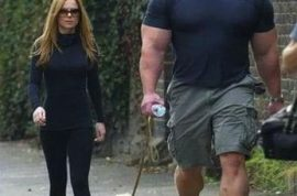 Geri Halliwell has finally agreed to introduce her new dog walker….