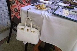 Let's all find out how one socialite resolves one potential afternoon luncheon dilemma shall we…