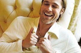 Brad Pitt confesses being married to Jen Aniston was like watching paint dry on the wall.