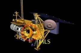 NASA satellite uncontrollably falls to Earth in South Pacific, not Canada, as experts thought.