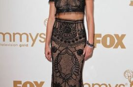 The five worst dressed hawt bixches of the Emmy's.