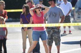 Ex militia man kills eight on a shooting spree targeting ex wife.