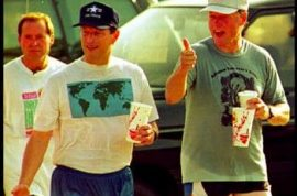 Bill Clinton and Al Gore got style and then some…