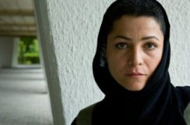 Iranian actress sentenced to one year jail and 90 lashes for her role in a film challenging female stereo roles and limitations imposed on artists.