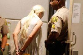 My favorite hero's probation is revoked. Lindsay Lohan bail set at $100 000.