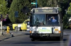 Bus driver kicks off mother and her screaming baby, passengers then follow in protest.