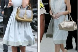 Lindsay Lohan would like to explain how she ended up looking like a fashion faux pas in overdrive in court today.