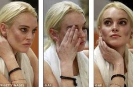 Oh no! Lindsay Lohan scores herself a 5th mugshot picture.