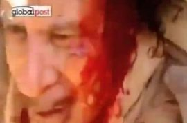 The moment of Muammar Gaddafi's capture and what are we to make of it? (graphic video).