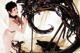 Inside the tortured mind of torture-device artist Killian Skarr