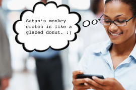 Living and texting in Pakistan is becoming more dubious. Don't dare text the words 'Glazed donut,' or 'Monkey Crotch.'