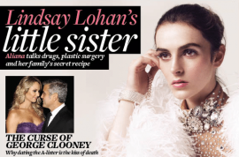 Ali Lohan still believes she didn't have any plastic surgery.