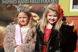Are these 6 year old toddlers a tad too dressed up? Turning 6 year old toddlers into pageant queens…and fashion accessories.