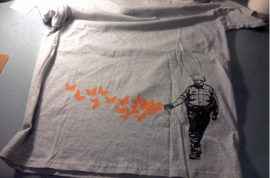 Will you be wearing the etsy 'Pepper Spray Cop' t shirt for the holidays?