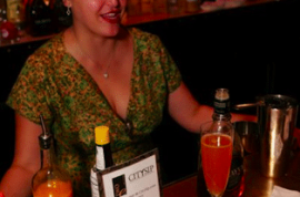 Apertivo Hour at the Pierre Hotel with Citysip and the Ladies United for the Preservation of Endangered Cocktails.