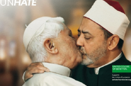 Why is the Vatican so against men kissing in public?