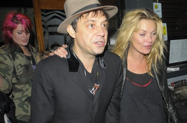 My hero Kate Moss gets trashed (again).