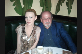 Devorah Rose to Salman Rushdie; 'Let's get real, you were pursuing me!'
