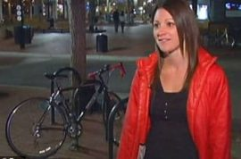 Woman spots her stolen bicycle on craigslist and steals it back after posing as buyer.