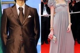 Fashion model sacked after publicly standing by her boyfriend- ex Libyan dictator's dead son.