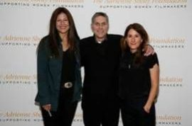 CATHERINE KEENER, KEVIN CORRIGAN, AND NICOLE HOLOFCENER HONOR THE LEGACY OF ADRIENNE SHELLY AT THE FIRST ANNUAL WOMAN OF VISION SALUTE AT MoMA