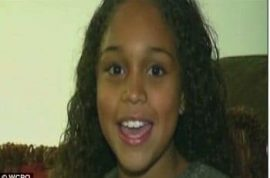 Girl choking on a locket saved on the way to hospital by a pothole.