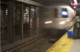 Gruesome weekend on NYC subways with 4 deaths including decapitated head on platform.