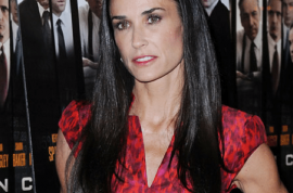 Demi Moore rushed to hospital after snorting too much of the good stuff.