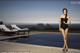Wow! At 62 years old Vera Wang is still a very hawt bixch…