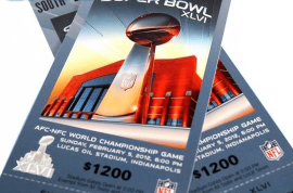 Bixch dumps boyfriend after she finds out he has cancer but then insists on him giving her Super Bowl tickets anyway.
