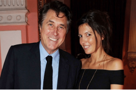 66 year old Bryan Ferry marries girlfriend 37 years his junior.