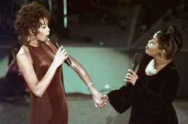Was Whitney Houston a secret lesbian? Did self disgust fuel a drug binge?