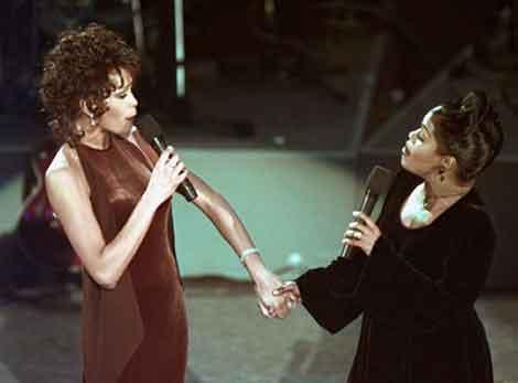 Was Whitney Houston a secret lesbian? Did self disgust fuel a drug