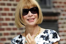 Anna Wintour disagrees that she's a totally cold bixch. 'Forget playtime, I'm here to work bixches.'