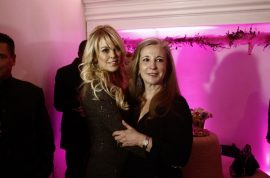 Randi Rahm wows at Upper East side boite whilst Dina Lohan holds court.