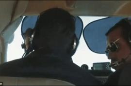 'I've never felt death so near.' Video captures emergency landing as propeller falls off mid air.