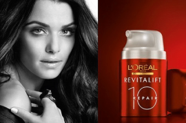 L'oreal's Ad featuring a photoshopped Rachel Weisz banned.