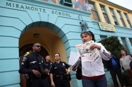 Los Angeles school superintendent suspends entire faculty after school teachers caught sexually abusing children.