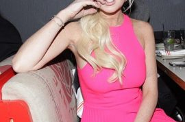 Lindsay Lohan gets into an altercation at the Standard hotel after accused of wearing a wig.