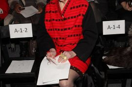 Zelda Kaplan: 95 year old socialite dies whilst sitting front row during NYC fashion week.