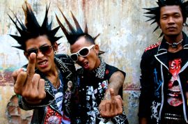 Welcome to the sudden rise of punk in Southeast Asia where punk is used to fight autocratic regimes as opposed to selling cool sunglasses.
